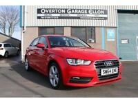 2014 Audi A3 1.4T FSI SPORT 150 ps Petrol red Manual