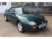TROPHY CARS MGTF MGF, 39K MILES,NEW HEADGASKET-CAMBELT,WATERPUMP,1YR WARRANTY