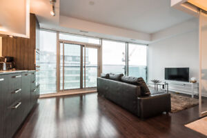Luxury 2 Beds, 1 Washroom Condo Downtown -AVAILABLE IMMEDIATELY