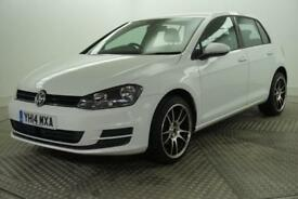 2014 Volkswagen Golf SE TDI BLUEMOTION TECHNOLOGY Diesel white Manual