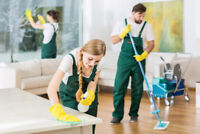 Hiring a regular cleaning person