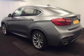 2016 GREY BMW X6 3.0 XDRIVE30D M SPORT DIESEL AUTO COUPE CAR FINANCE FR £134 PW