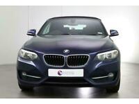 2015 BMW 2 Series 218I Sport Convertible Petrol Manual