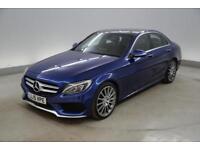 Mercedes-Benz C Class C300 BlueTEC Hybrid AMG Line Premium Plus 4dr Auto