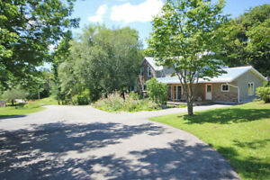 Farmhouse, barn, tiny house, & 94 acres; nr Almonte, ON