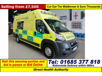 2010 - 60 - CITROEN RELAY 3.0 OH BODY AMBULANCE (GUIDE PRICE)