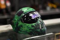 Snap On Auto-Darkening Green Skull Welding Helmet Winnipeg Manitoba Preview