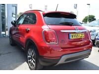 2015 Fiat 500X 1.6 MultiJet II Cross Plus (s/s) 5dr Diesel red Manual