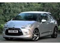 Citroen DS3 1.2 PureTech 110ps Turbo DStyle Nav 3dr 1 ONER FSH PX Welcome
