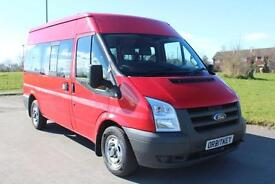 Ford Transit 2.2TDCi ( 115PS ) 300 MWB Shuttle Mini Bus Diesel
