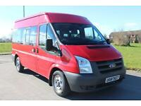 Ford Transit 2.2TDCi ( 115PS ) 300 MWB Shuttle Mini Bus Diesel £8995 + VAT