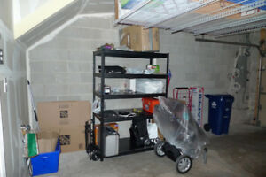 Steel Shelves (black) - Storage or Garage