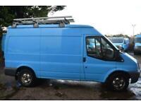 2013 Ford Transit 330 MWB BRITISH GAS SHELVING AIR CON 125 BHP BLUE VAN Panel Va
