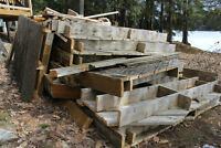 Free scrap lumber! PT and white cedar