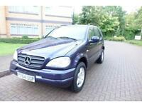NOW SOLD 2001 MERCEDES ML 320 Auto/Tip Left hand drive Lhd UK Registered