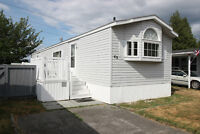MOBILE HOME. (45 & OVER) BEAUTIFUL!!!. FULLY FENCED!