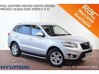 2011 Hyundai Santa Fe 2.2CRDi (7st) auto Premium-LEATHER-HEATED SEATS-P. SENSORS