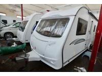 2009 Coachman Wanderer 18 4 Berth Touring Caravan with Fixed Bed