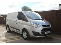 Ford Transit Custom 2.2TDCi 125PS 270 L1H1 Trend in Silver + A/C - Onsite