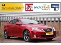 2011 Lexus IS 2.2 TD F Sport 4dr (Multimedia) Diesel red Manual