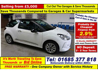 2014 - 63 - CITROEN DS3 DESIGN 1.2VTi 3 DOOR HATCHBACK (GUIDE PRICE)