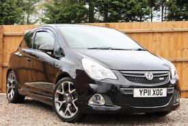 Vauxhall Corsa 1.6i 16v Turbo 192ps VXR Manual Petrol 3 Door Hatchback in Black