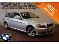 2011 BMW 320D 2.0 ESTATE Exclusive Edition -FULL SERVICE HISTORY-FULL LEATHER-