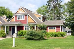 Luxuriuos Waterfront Resort Cottage - Baysville - Lake Of Bays
