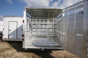 Featherlite Livestock Trailer - TA21608 Regina Regina Area image 3