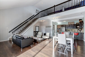 Beautiful modern 2 floors condo with loft - 1,500 sq ft