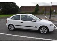 Vauxhall Astra 1.6i 16v 2002MY SXi with service history