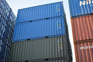 Sale of used and New Sea Containers 20'-40'