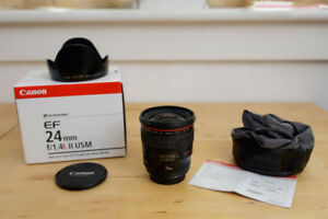 Canon EF 24 1.4L II (Latest Version)
