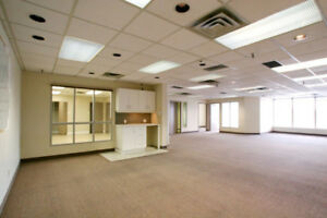2,200 sq ft Open Concept Office for Lease
