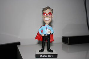 Change Hero bobble-head