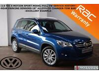 2009 Volkswagen Tiguan 2.0TDI 4 Motion Sport-FULL VW SERVICE HISTORY-FINANCE-
