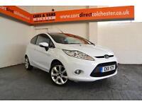 2011 Ford Fiesta 1.25 82ps Zetec £116 A Month £0 Deposit