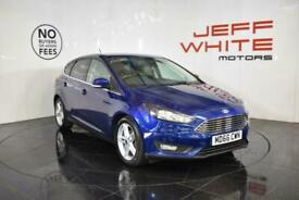 2016 Ford Focus 1.5 TDCi 120 Zetec 5dr Diesel blue Manual