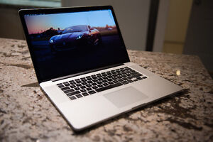 "MacBook Pro 15"" Retina - 512GB SSD - i7 2.8ghz - Nvidia 650M"