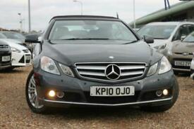 2010 Mercedes-Benz E Class E350 CDI BlueEFFICIENCY SE 2dr Tip Auto Cabriolet Die