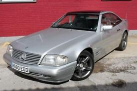 Mercedes SL SL280,convertible,hardtop soft top full leather,sports coupe