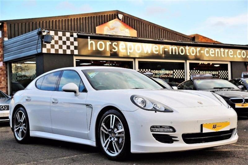 2011 Porsche Panamera 4 8 V8 4s Pdk Awd 5dr Petrol White