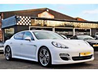 2011 Porsche Panamera 4.8 V8 4S PDK AWD 5dr Petrol white Semi Auto