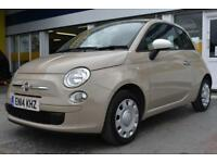 GOOD CREDIT CAR FINANCE AVAILABLE 2014 14 FIAT 500 1.2 COLOUR THERAPY