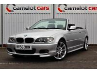 2006 (56) BMW 318CI 2.0 PETROL M SPORT CONVERTIBLE, FULL HISTORY 6M WARRANTY INC