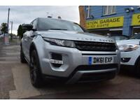2011 61 RANGE ROVER EVOQUE 2.2SD4 DYNAMIC LUX A GOOD AND BAD CREDIT CAR FINANCE