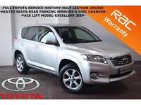 2011 Toyota RAV4 2.2D-4D 150bhp XT-R -FULL TOYOTA SERVICE HISTORY-HEATED SEATS-