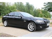 2010 BMW 5 Series 3.0 530d SE 4dr AUTO, DIESEL, SAT-NAV, LEATHER, LOW MILEAGE