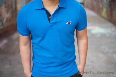 NWT Hollister By Abercrombie & Fitch Men's Epic Flex Polo T-Shirt Sz XS S M L XL