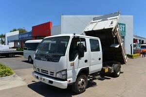 ISUZU NPR 400 ** DUALCAB ** TIPPER ** #4948 Archerfield Brisbane South West Preview